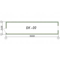 Блок-контейнер БК00 10 метров