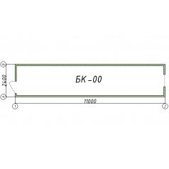 Блок-контейнер БК00 11 метров