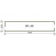 Блок-контейнер БК00 12 метров