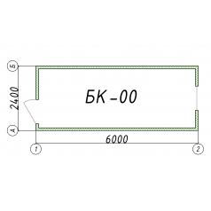 Блок-контейнер БК00 6 метров