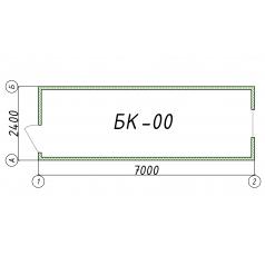 Блок-контейнер БК00 7 метров