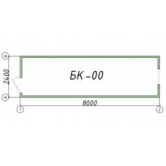 Блок-контейнер БК00 8 метров