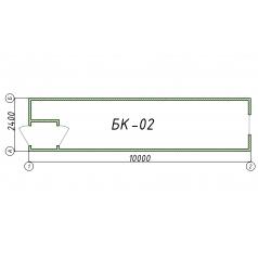 Блок-контейнер БК02 10 метров