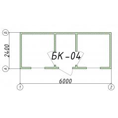 Блок-контейнер БК04 6 метров