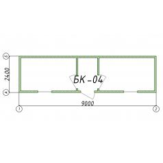 Блок-контейнер БК04 9 метров