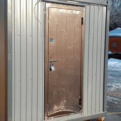 """Дверь ДГ заводская """"Стройгост"""" 2.0x0.8м"""
