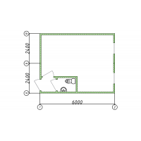 Блок-контейнер с санузлом 28 кв. м.