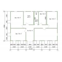 Блочно-модульный офис из 12 блоков