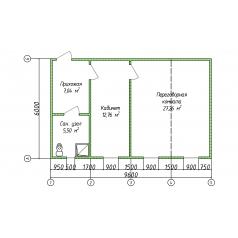 Штаб строительства модульный из 4 блок-контейнеров от производителя