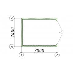 Блок-контейнер хозблок сарай