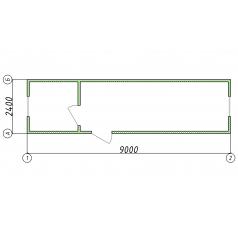 Модульный шиномонтаж 9 метров